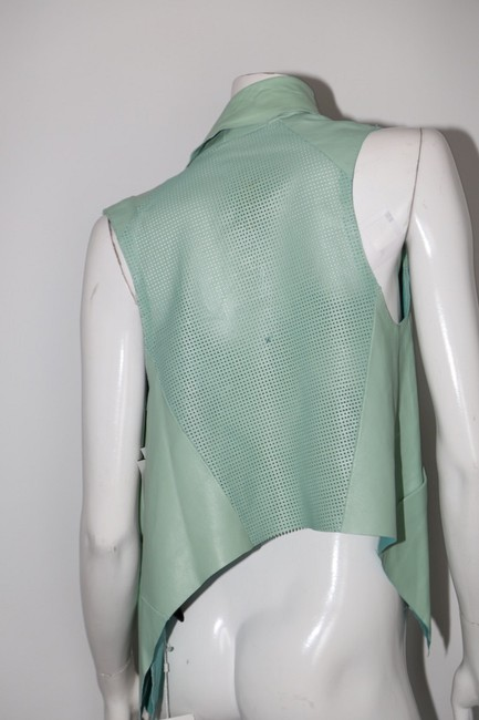 LAMARQUE Mint Perforated Vest Image 5