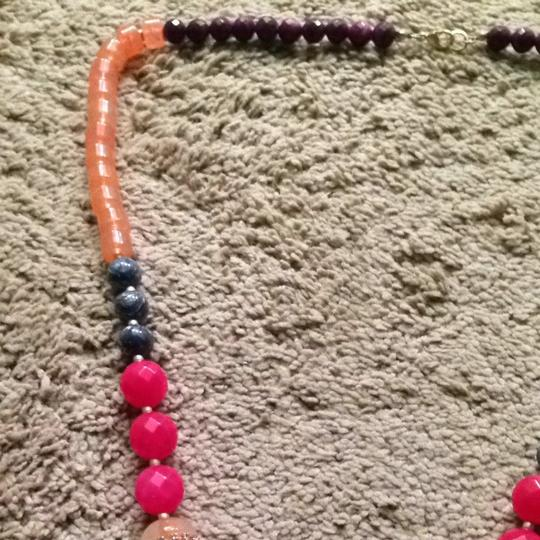 Anthropologie Anthropologie Bright Long Beaded Necklace