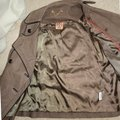 Tory Burch Lateen S Coconut/Brown Leather Jacket Image 5