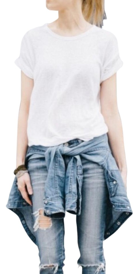 Isabel marant for h m linen tee t shirt ivory on tradesy for Isabel marant t shirt sale