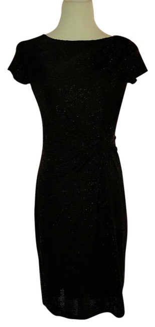 Preload https://img-static.tradesy.com/item/22170011/ellen-tracy-black-mid-length-cocktail-dress-size-2-xs-0-1-650-650.jpg
