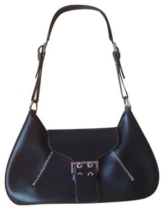 Gironacci Polish Leather Leather Made In Italy Shoulder Bag