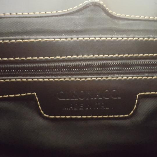 Gironacci Polish Leather Leather Made In Italy Shoulder Bag Image 5