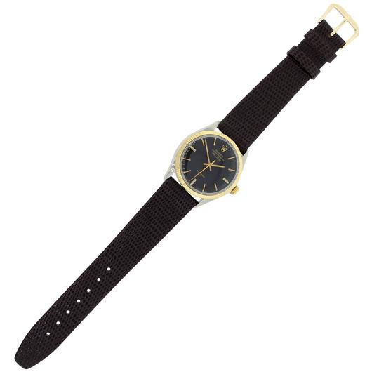 Rolex Rolex 5501 Air-King Two Tone on Leather Strap Watch Image 2