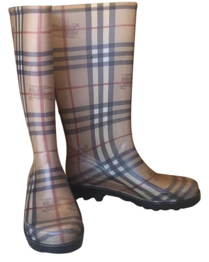 Burberry Burberry print Boots Image 0