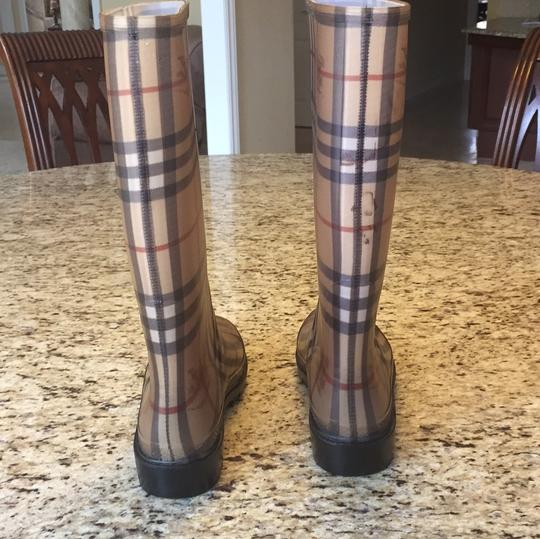 Burberry Burberry print Boots Image 3