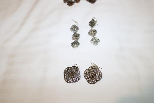Other (Set of 3) Detailed Earrings Image 10