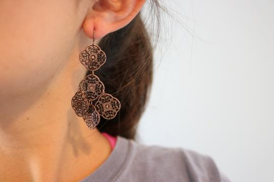 Other (Set of 3) Detailed Earrings Image 8