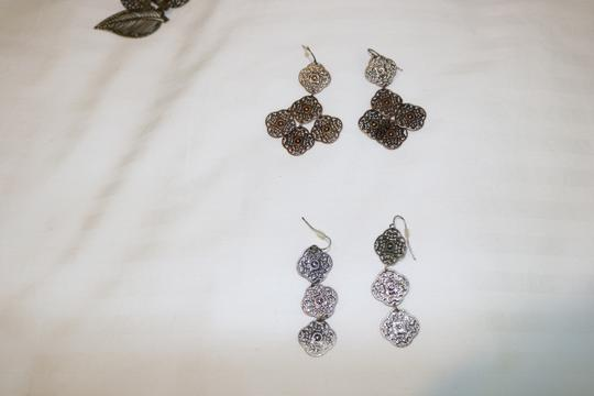 Other (Set of 3) Detailed Earrings Image 9