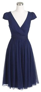 J.Crew Petite Silk Chiffon Full Coverage Wedding Bridesmaid Dress