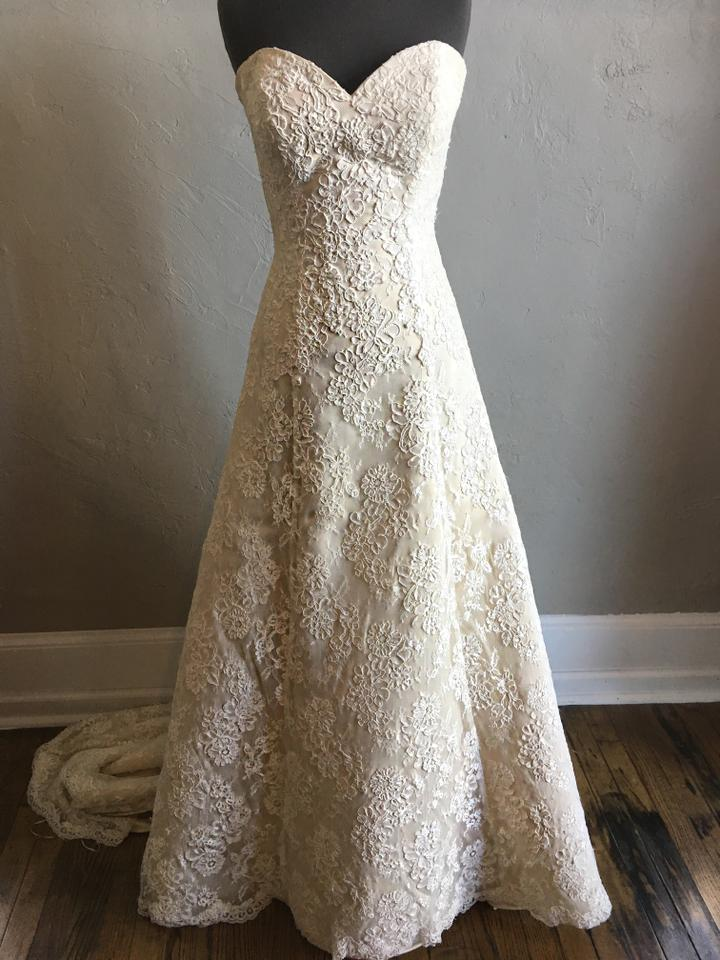 Justin alexander 8627 wedding dress on tradesy for Best way to sell used wedding dress