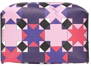 Emilio Pucci Printed Leather Cosmetic Bag