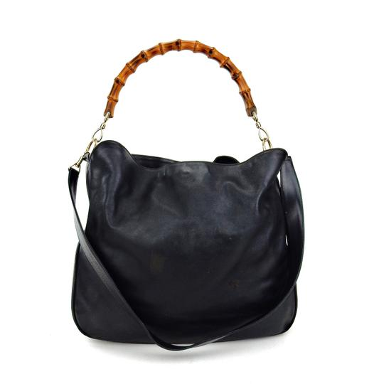 Preload https://img-static.tradesy.com/item/22170868/gucci-bamboo-convertible-black-leather-shoulder-bag-0-0-540-540.jpg