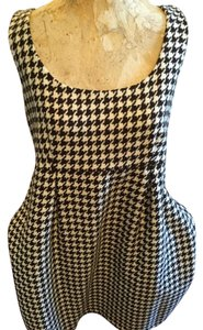 Vineyard Vines Wool Sz 12 Houndstooth Dress