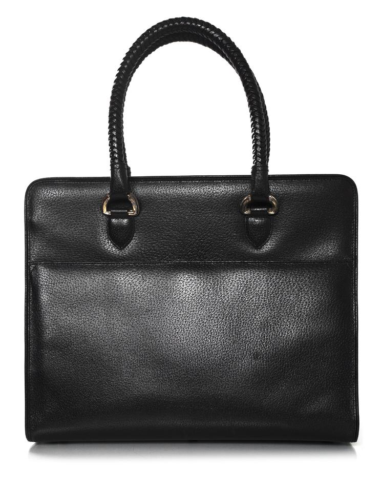 Kieselstein Cord Large Work Tote With Shw And Db Shoulder