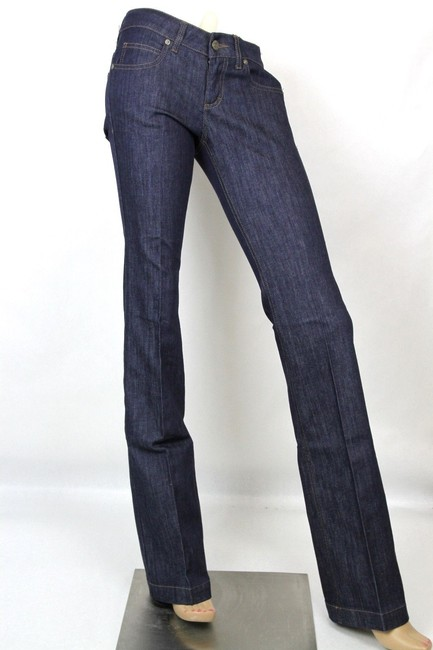 Gucci Denim 70's 338501 Skinny Pants Blue Image 1