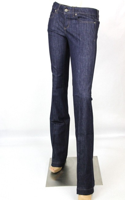 Gucci Denim 70's 338501 Skinny Pants Blue Image 2