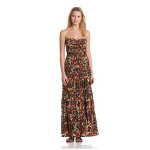 Purple, Green, Blue, Red, Brown, Orange, White Maxi Dress by PJK Patterson J. Kincaid
