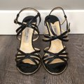 Jimmy Choo Black and Gold Formal Image 1