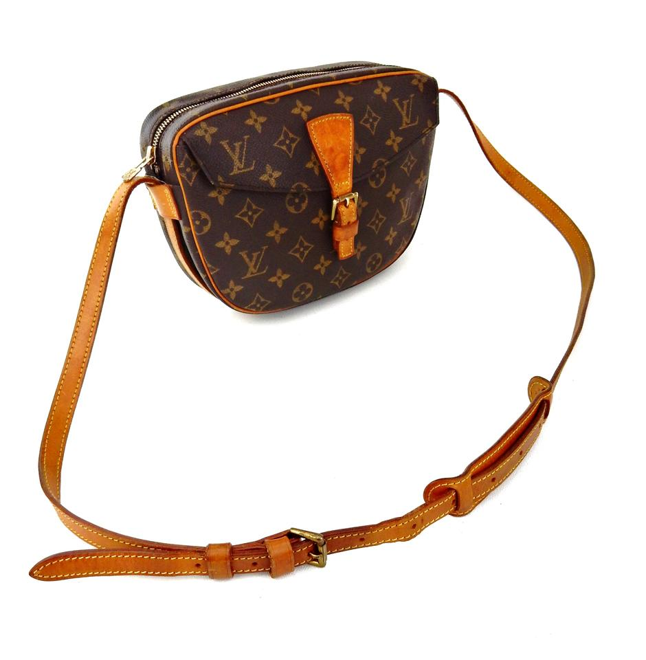 louis vuitton vintage jeune fille monogram canvas leather crossbody shoulder bag on tradesy. Black Bedroom Furniture Sets. Home Design Ideas