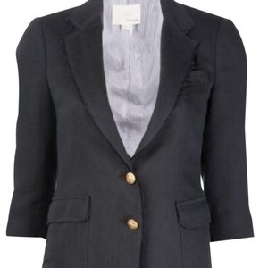 Band of Outsiders Navy Gold buttons Blazer