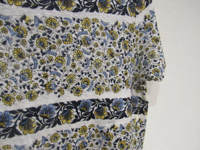 Lucky Brand T Shirt White, Blue, Yellow Image 3