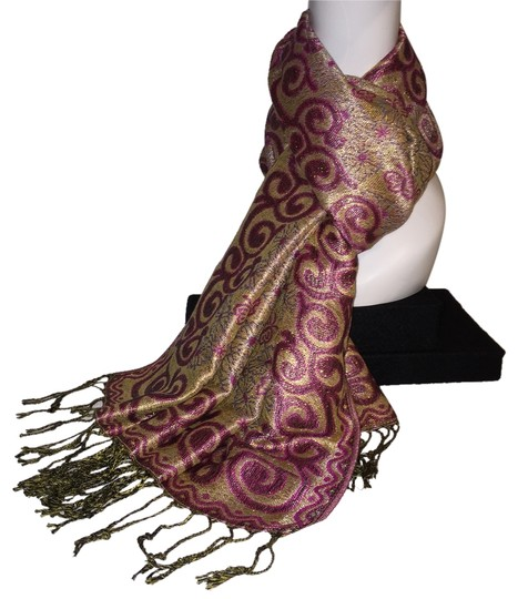 Preload https://item3.tradesy.com/images/other-indian-motif-wrap-scarf-glimmer-textile-roxanne-anjou-closet-2217172-0-0.jpg?width=440&height=440
