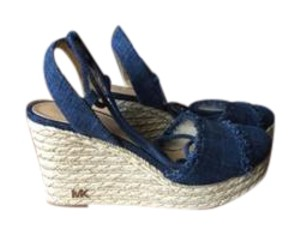 Michael Kors indigo Wedges