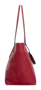 Coach New Taxi Zip Top Nude Leather Shoulder Purse 33915 Handbag Tote in Red