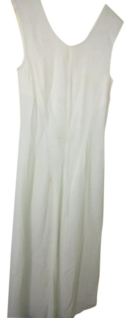 Item - White Mid-length Cocktail Dress Size 10 (M)