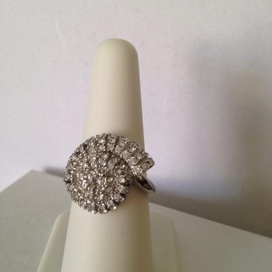 Other NWOT Nautilus Shell White Cubic Zirconia Silver-Tone Ring, Size 8