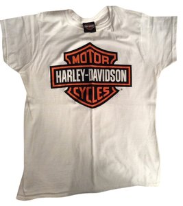 Harley Davidson Top White