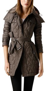 Burberry Brit Housecheck Quilted Xl mink gray Jacket