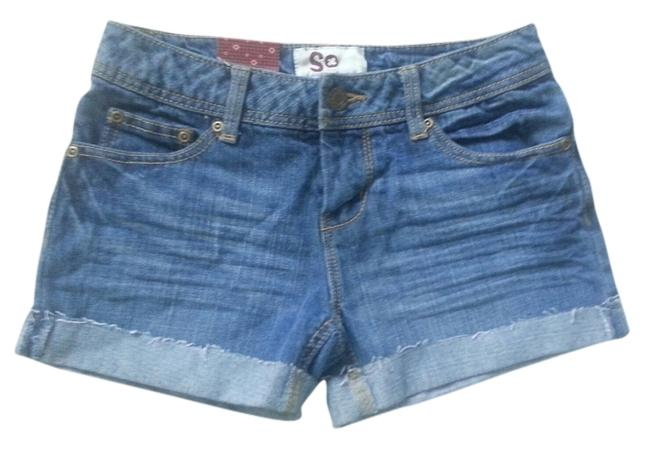 Preload https://item2.tradesy.com/images/blue-minishort-shorts-size-0-xs-25-2217356-0-0.jpg?width=400&height=650