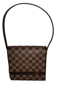 Louis Vuitton Tribeca Damier Ebene Canvas Mini B Shoulder Bag