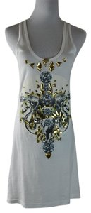 Givenchy Jeweled Embelished - Tank Graphic Eagle Tunic