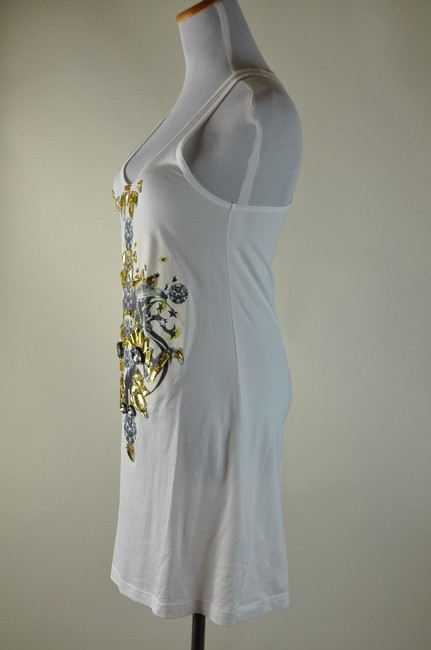 Givenchy Jeweled Embelished Tank Graphic Eagle Tunic
