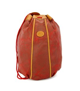 Gucci Vintage Backpack Red Travel Bag