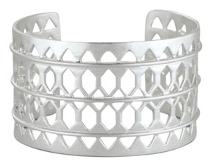 Stella & Dot New sterling silver plait cuff
