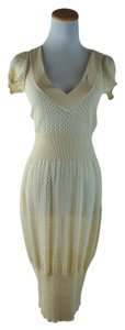 ALAÏA Knit Sheer Alaia Dress