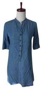 Tucker short dress blue Chambray Mini Tunic on Tradesy