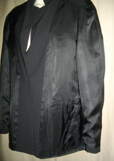 Boss by Hugo Boss Single Breasted Black Jacket