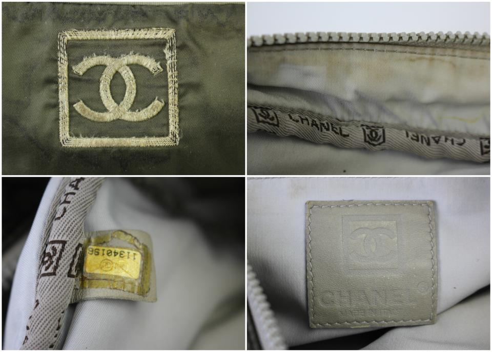 774e9a615973 Chanel Quilted Sports Olive Green Nylon Shoulder Bag - Tradesy