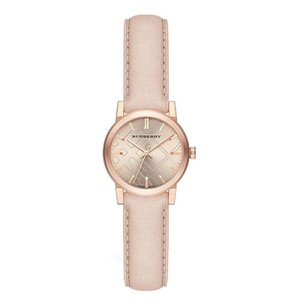 Burberry Burberry Women'sThe City Rose Gold Tone Leather Watch 26mm BU9210