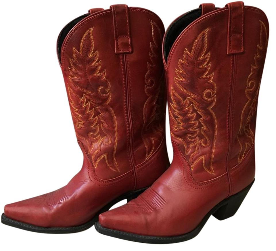 genuine shoes fine quality exquisite design Red 51055 Boots/Booties