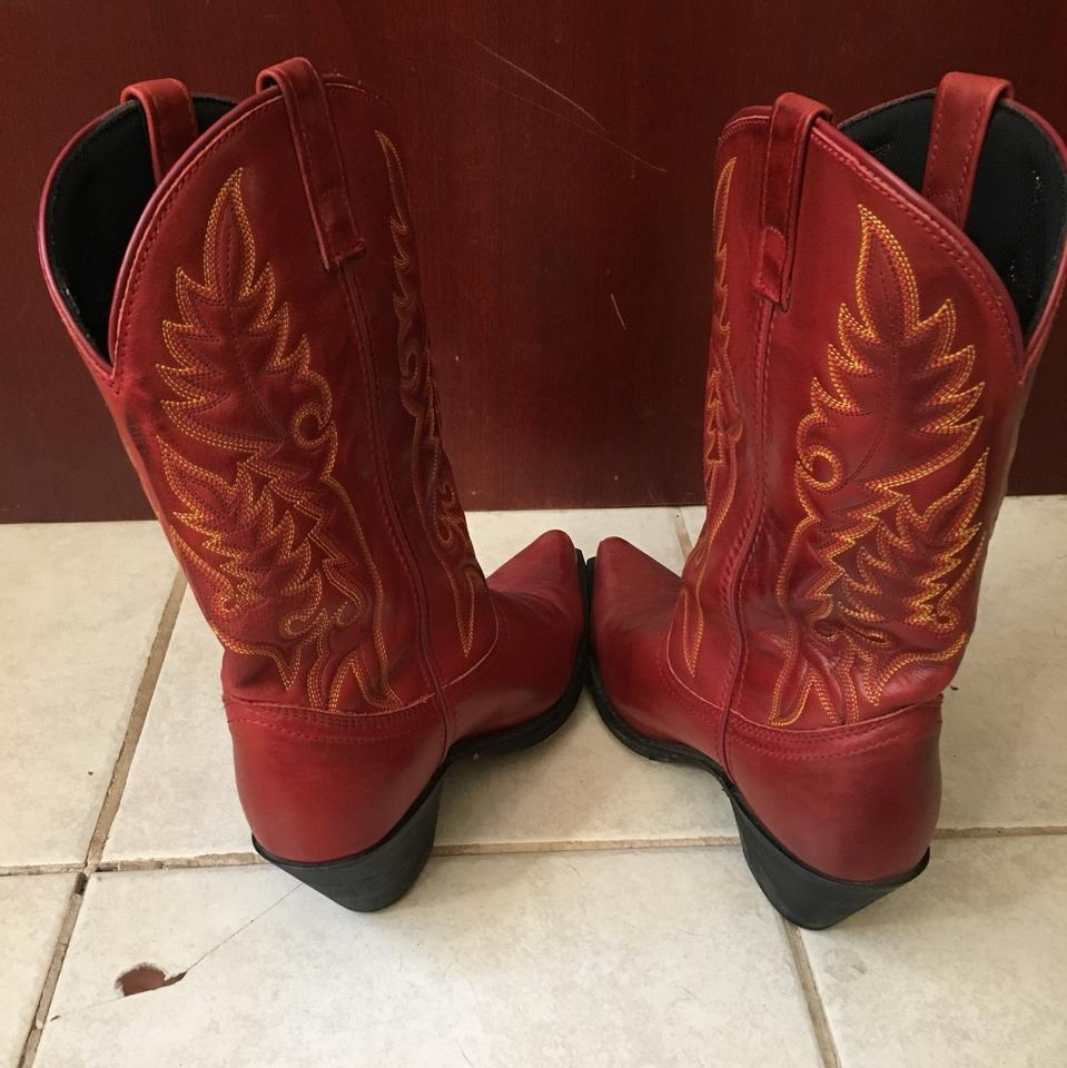 3a38a60828e Red 51055 Boots/Booties