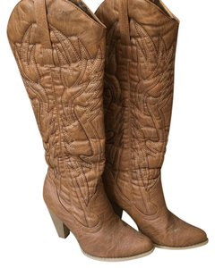 Alloy Apparel tan Boots