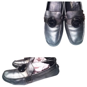 Cole Haan Loafers Size 5.5 Gunmetal Grey Flats