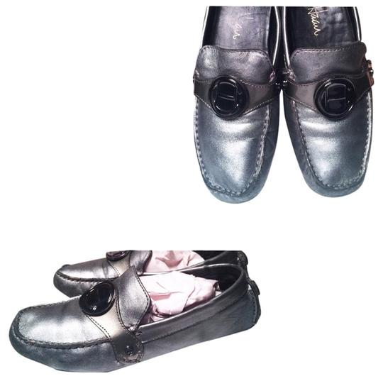 Cole Haan Loafers Size 5.5 Nordstrom Gunmetal Grey Flats