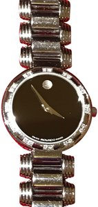 Movado Authentic Swiss Movado Diamond Bezel Serenade Museum Dial Watch